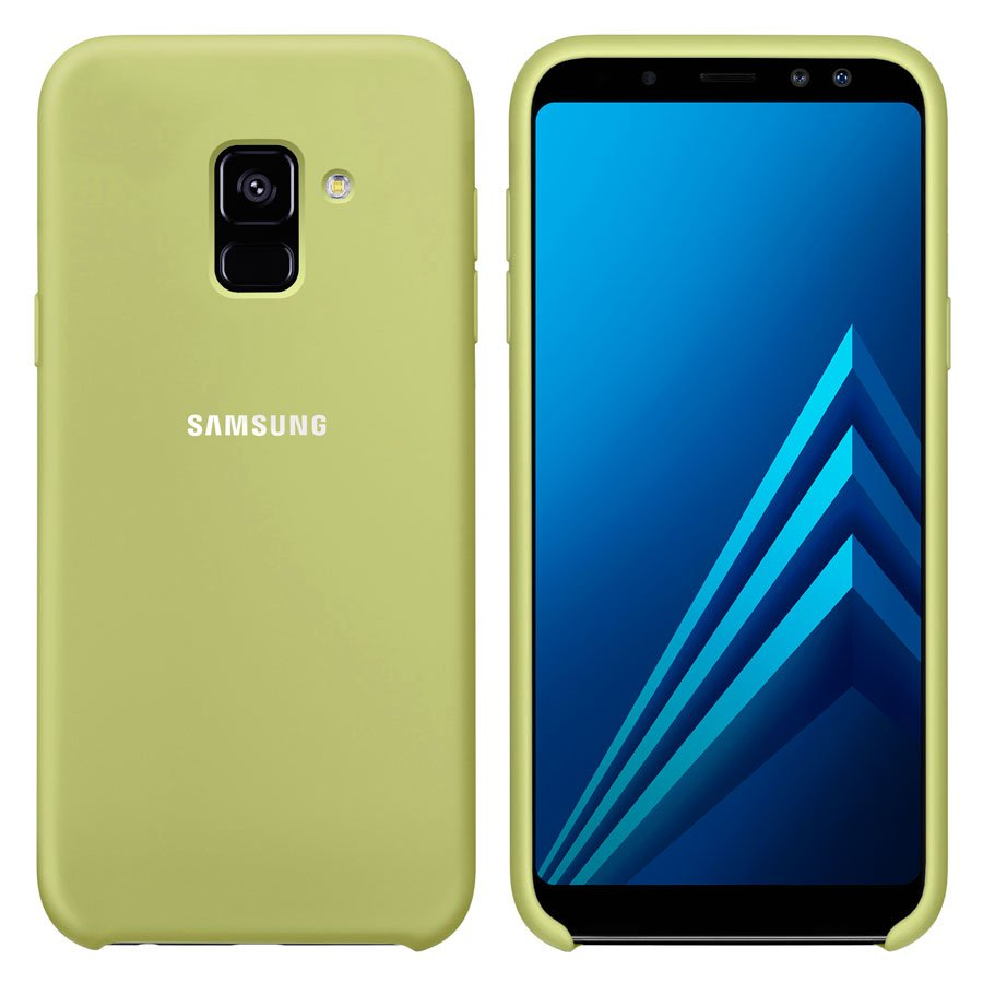 Чехол Original Soft Touch Case for Samsung J6-2018/J600 Turquoise