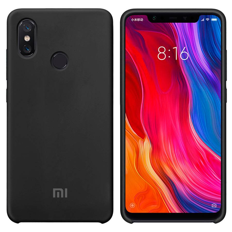 Чехол Original Soft Touch Case for Xiaomi Mi8 SE Black