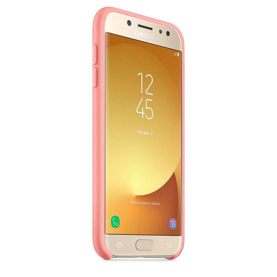 Чехол Original Soft Touch Case for Samsung J3-2017/J330 Pink
