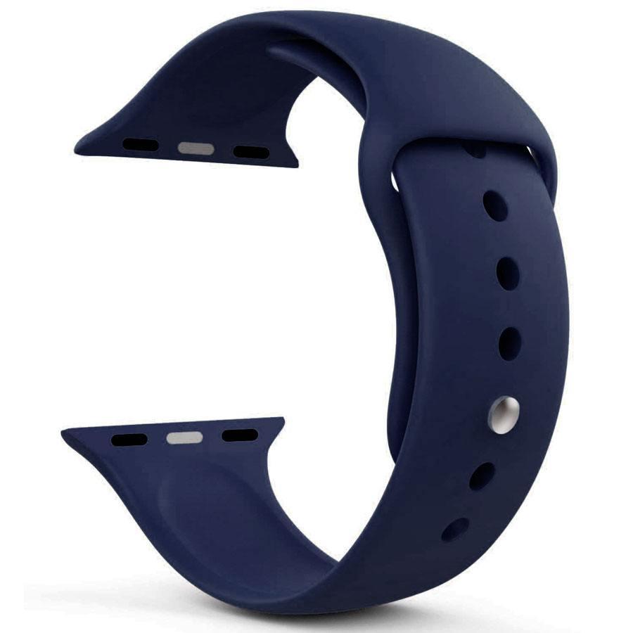Ремешок для Apple Watch 38mm/40mm Silicone Watch Band Ocean Blue
