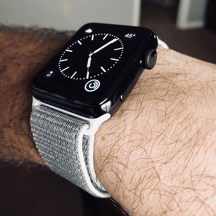 Ремешок для Apple Watch 42mm/44mm Nylon Sport Loop Seashell