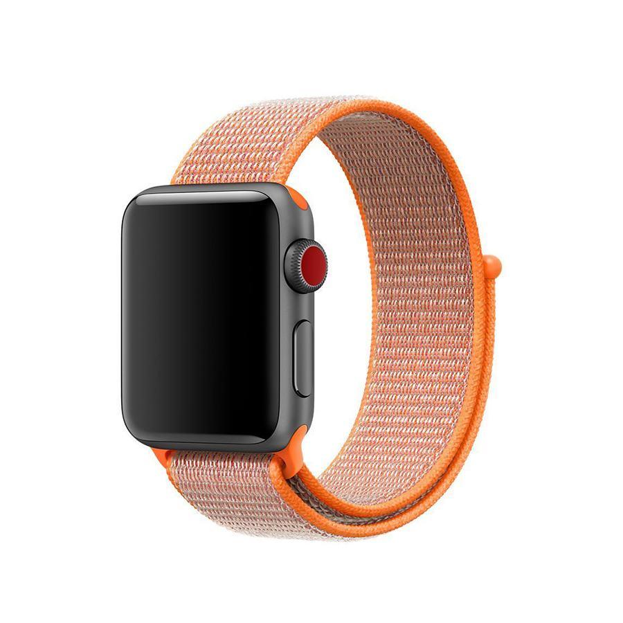 Ремешок для Apple Watch 42mm/44mm Nylon Sport Loop Spicy Orange