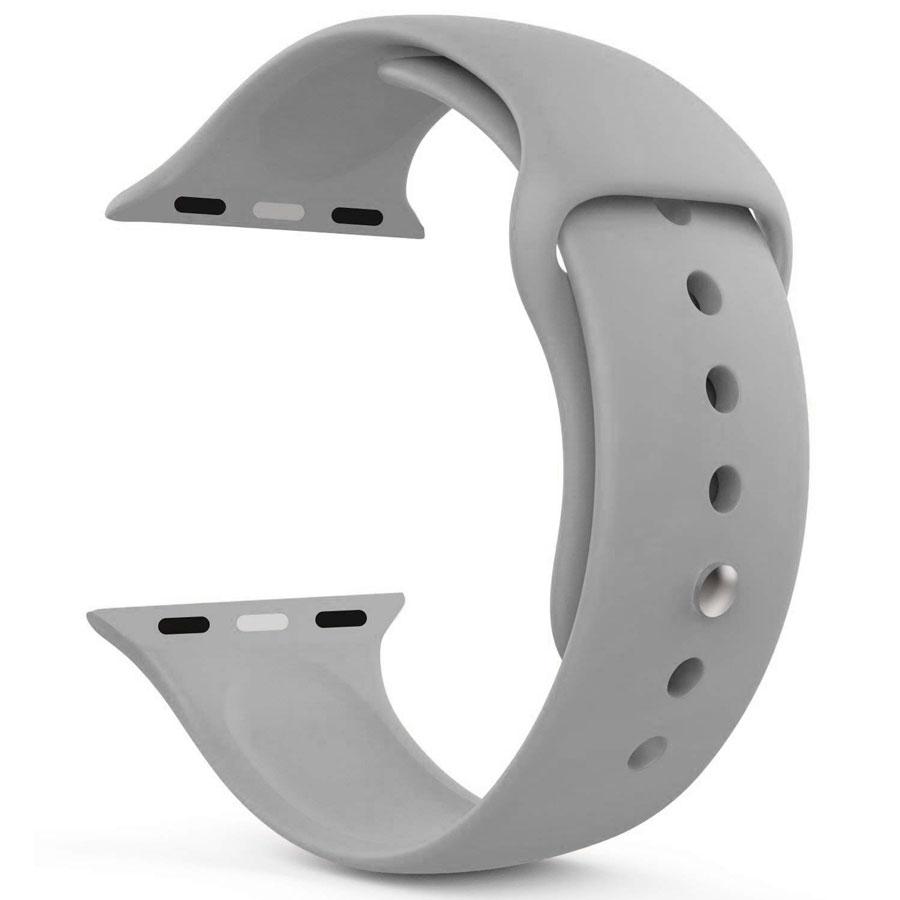 Ремешок для Apple Watch 42mm/44mm Silicone Watch Band Stone