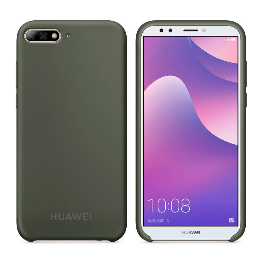 Чехол Original Soft Touch Case for Huawei Y6 Prime 2018 Olive Green