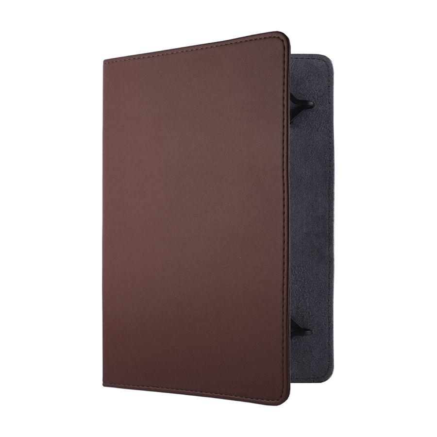 Сумка книжка универсальная для планшетов Lagoda 7 дюймов Brown Boom