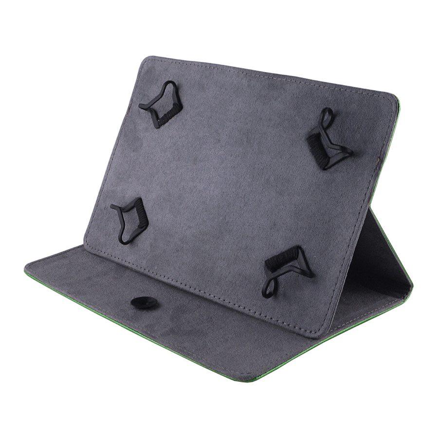 Сумка книжка универсальная для планшетов Lagoda 6-8 дюймов Dark Green Rainbow
