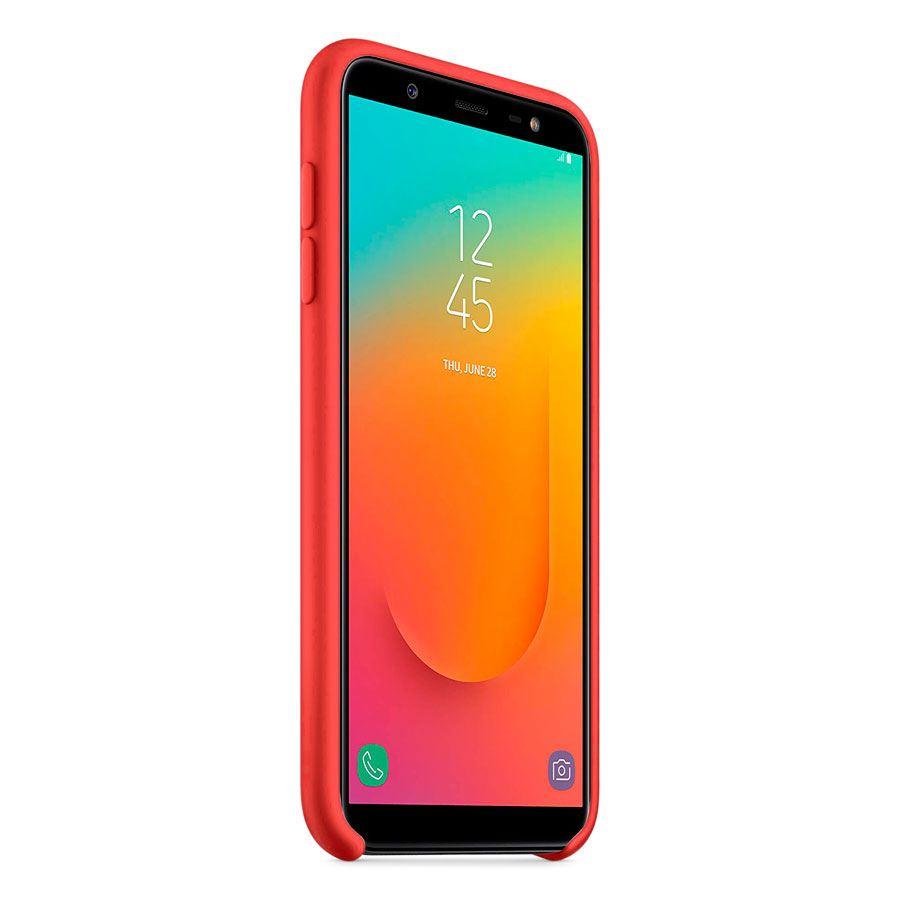 Чехол Original Soft Touch Case for Samsung J8-2018/J810 Red