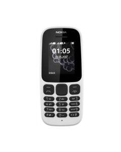 Nokia 105 Single Sim New White (A00028371)