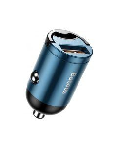АЗУ Baseus Tiny Star Mini Quick Charge Car Charger USB Port 30W Blue
