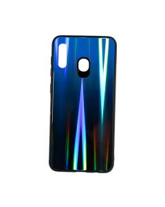 Silicon Mirror Shine Gradient Case для Xiaomi Redmi 7a Deep Blue