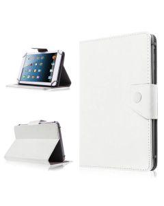 Сумка книжка универсальная для планшетов скоба+резинка 7.0 дюймов White