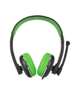 Наушники ERGO Ear VM-280 + mic Green