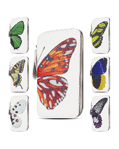 Сумка кожаная Бабочка (размер №6)/8*14.6 Butterfly