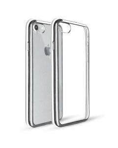 Original Silicon Case iPhone 7  Plus Silver/Clear