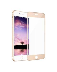 Защитное стекло для iPhone 6/6S 3D Gold