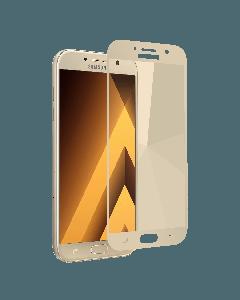 Защитное стекло для Samsung A7-2016/A710 2D Gold