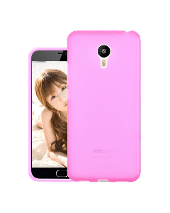 Original Silicon Case Meizu M5 Pink