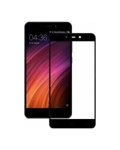 Защитное стекло для Xiaomi Redmi 4a 2D Black (тех.пак)