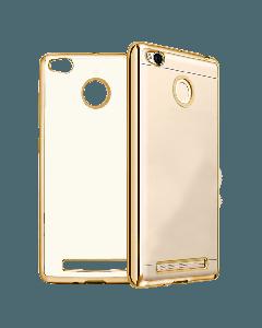 Original Silicon Case Xiaomi Redmi 4 Pro/4 Prime Gold/Clear
