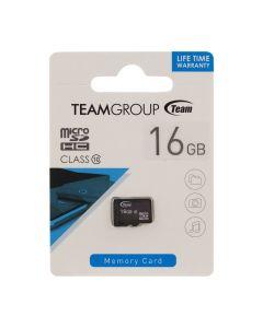 Карта памяти Team 16GB microSDHC Class 10 (без адаптера)