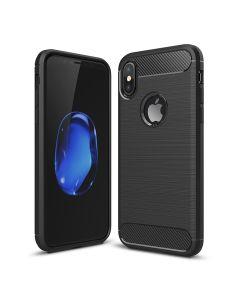 Чехол накладка iPAKY для iPhone X Black Slim TPU