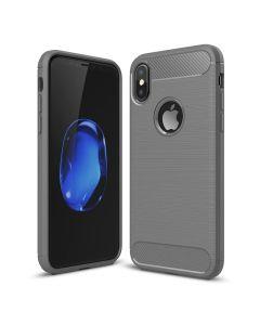 Чехол накладка iPAKY для iPhone X Gray Slim TPU