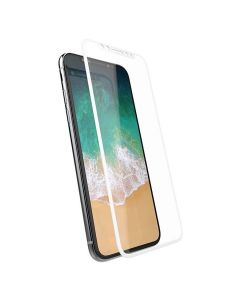Защитное стекло для iPhone X/XS/11 Pro 3D White (тех.пак)