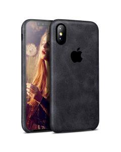 Чехол накладка X-Level PU Vintage для iPhone X Black