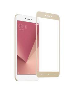 Защитное стекло для Xiaomi Redmi Note 5a/Note 5a Prime 3D Gold