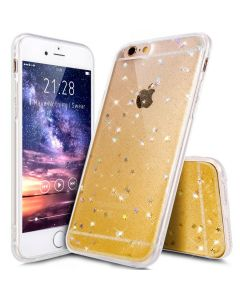 Чехол накладка Protective Shell Case для iPhone X Gold