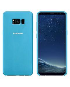 Чехол Original Soft Touch Case for Samsung S8 Plus/G955 Blue