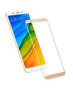 Защитное стекло для Xiaomi Redmi 5 Plus 3D Gold