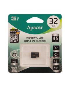 Карта памяти Apacer 32GB microSDHC Class 10 UHS-I (без адаптера)