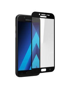 Защитное стекло для Samsung J7-2017/J730 2D Black (тех.пак)