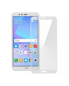 Защитное стекло для Huawei Y6 2018/Y6 Prime 2018 3D White