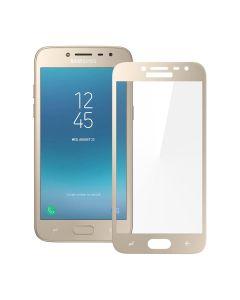 Защитное стекло для Samsung J2 Pro 2018/J2 2018/J250 3D Gold