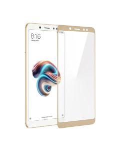 Защитное стекло для Xiaomi Redmi Note 5/Note 5 Pro 3D Gold