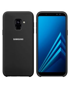 Чехол Original Soft Touch Case for Samsung A6 Plus 2018/A605 Black