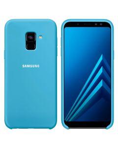 Чехол Original Soft Touch Case for Samsung J6-2018/J600 Blue