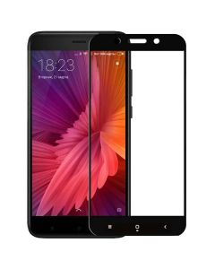 Защитное стекло для Xiaomi Redmi 4x 5D Black (тех.пак)