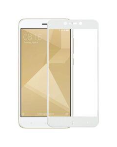 Защитное стекло для Xiaomi Redmi 4x 5D White (тех.пак)