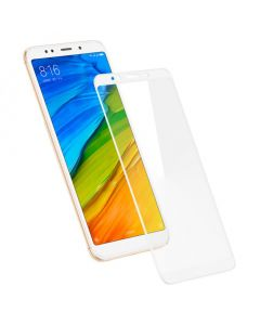 Защитное стекло для Xiaomi Redmi 5 Plus 5D White (тех.пак)