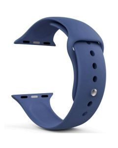 Ремешок для Apple Watch 38mm/40mm Silicone Watch Band Royal Blue