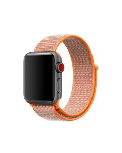 Ремешок для Apple Watch 42mm/44mm Nylon Sport Loop Spicy Orange