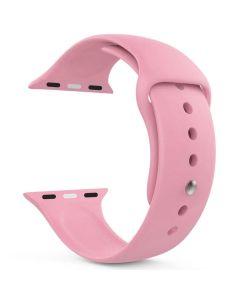 Ремешок для Apple Watch 42mm/44mm Silicone Watch Band Light Pink