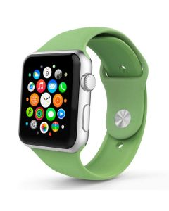 Ремешок для Apple Watch 42mm/44mm Silicone Watch Band Mint