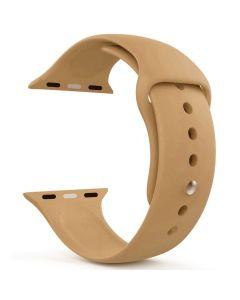 Ремешок для Apple Watch 42mm/44mm Silicone Watch Band Walnut