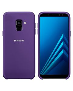 Чехол Original Soft Touch Case for Samsung A6 Plus 2018/A605 Violet