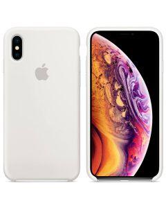 Чехол Soft Touch для Apple iPhone XS White (Original)