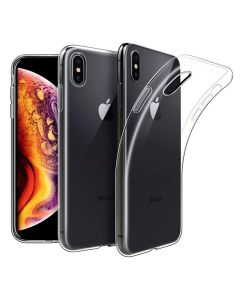 Original Silicon Case iPhone XS Clear